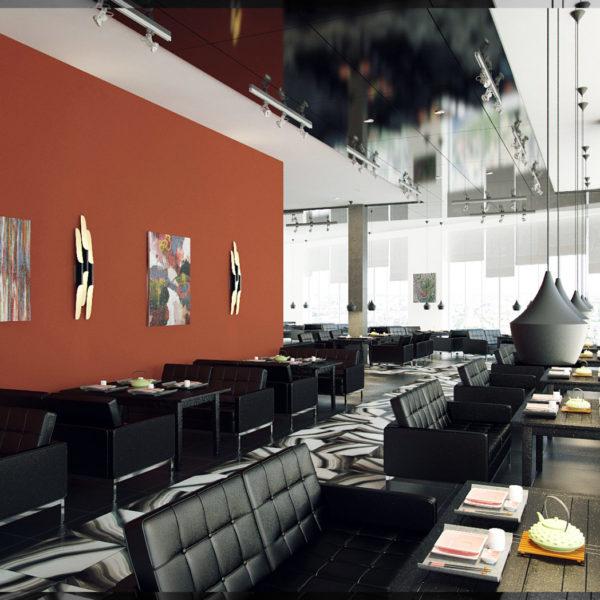 Ресторан этаж 1